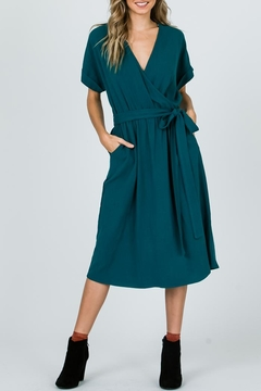 Ces Femme Midi Wrap Dress - Product List Image