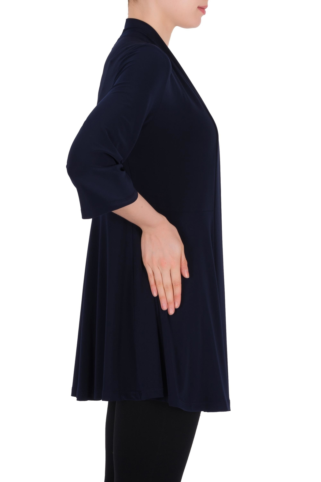 Joseph Ribkoff Midnight Blue Cover-Up - Front Full Image