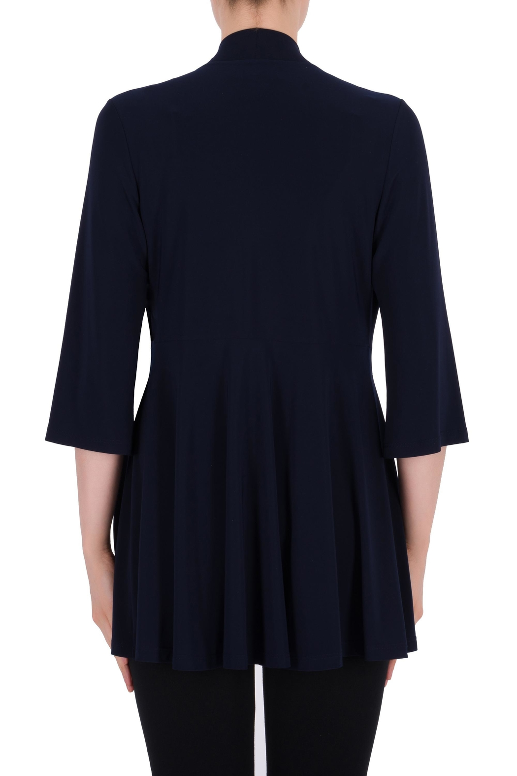 Joseph Ribkoff Midnight Blue Cover-Up - Side Cropped Image