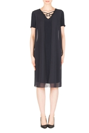 Joseph Ribkoff Midnight Blue Dress - Product Mini Image