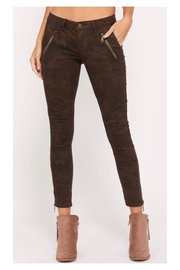 Polly & Esther Midnight Camo Pants - Product Mini Image