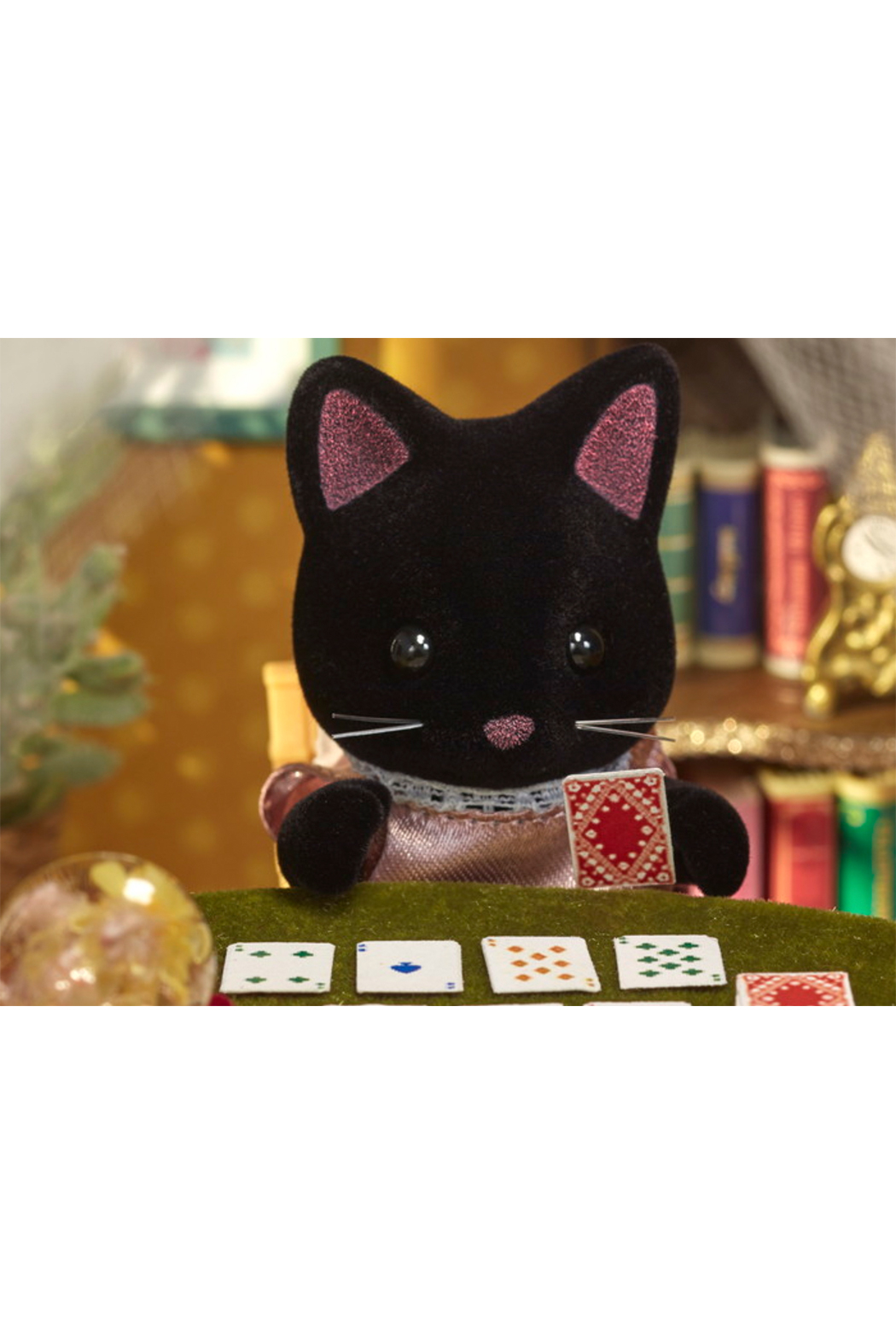 Calico Critters Midnight Cat Family - Side Cropped Image