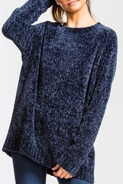 Shoptiques Product: Midnight Chenille Sweater
