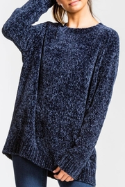 Cherish Midnight Chenille Sweater - Product Mini Image