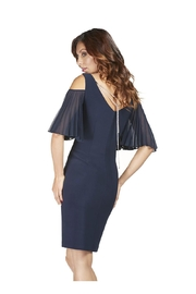 Frank Lyman Midnight Cold-Shoulder Dress - Product Mini Image