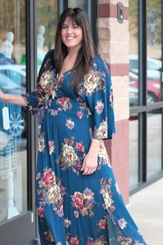 Oddi Midnight Meadow Maxi Dress - Product Mini Image