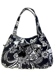 Vera Bradley Midnight Paisley Triple-Compartment - Product Mini Image