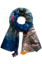 DESIGUAL Midnight Scarf - Front cropped
