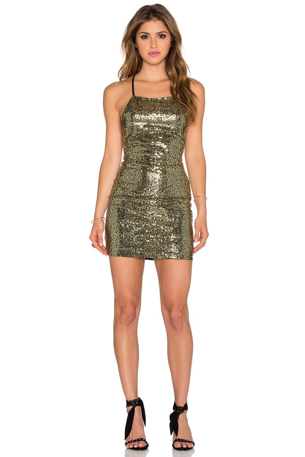 WYLDR  Midnight Sequin Dress - Main Image