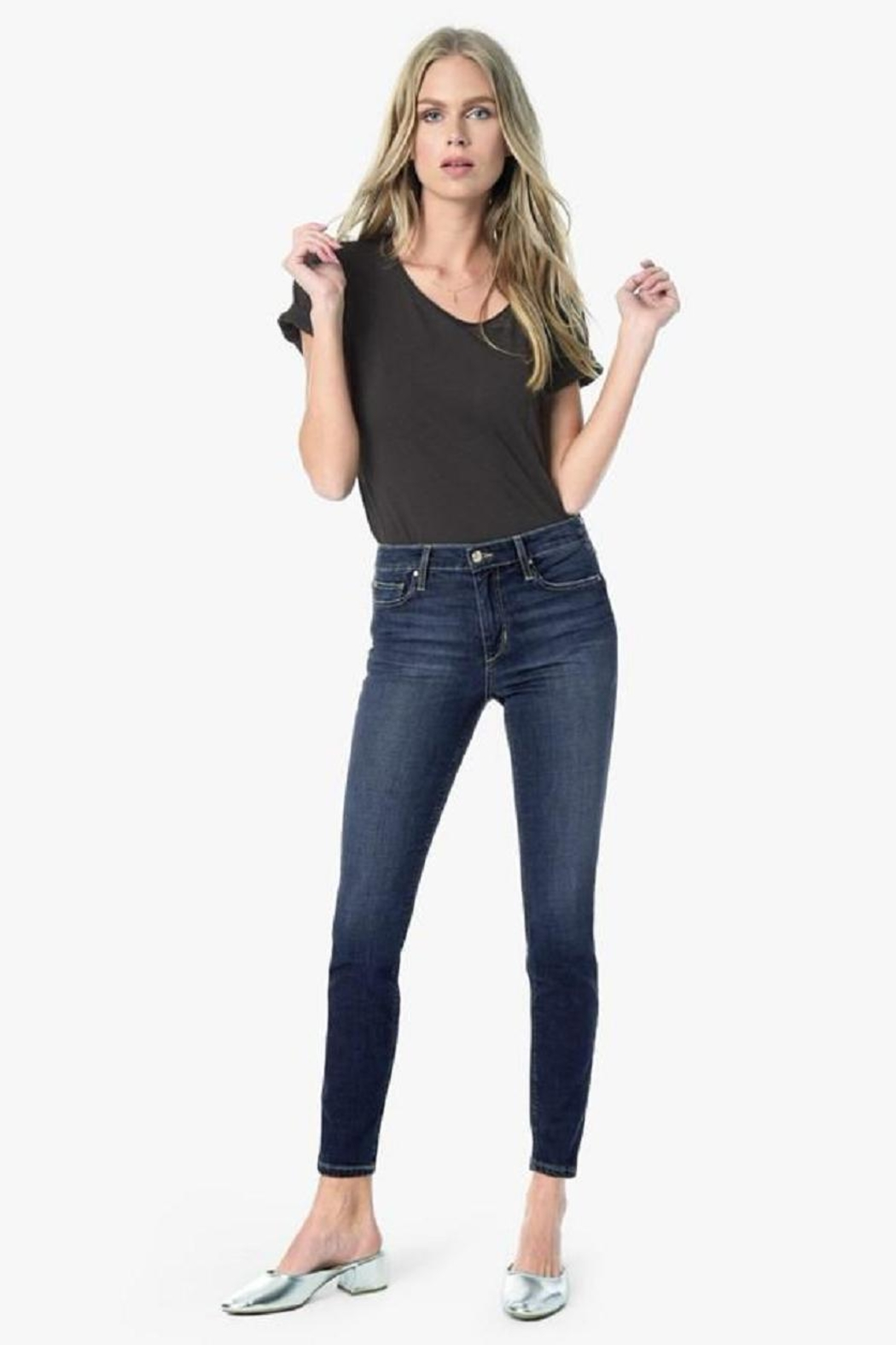 Joe's Jeans Midrise Skinny Jean - Front Cropped Image
