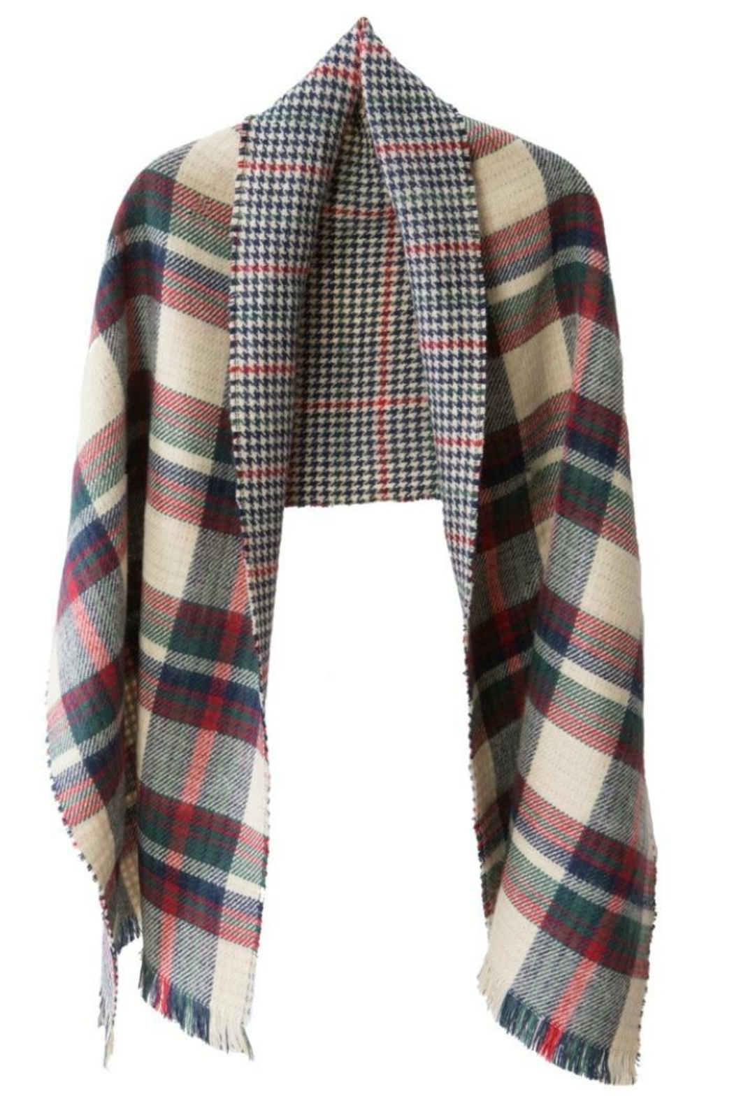 Midwest CBK Boxed Reversible Scarf - Front Cropped Image