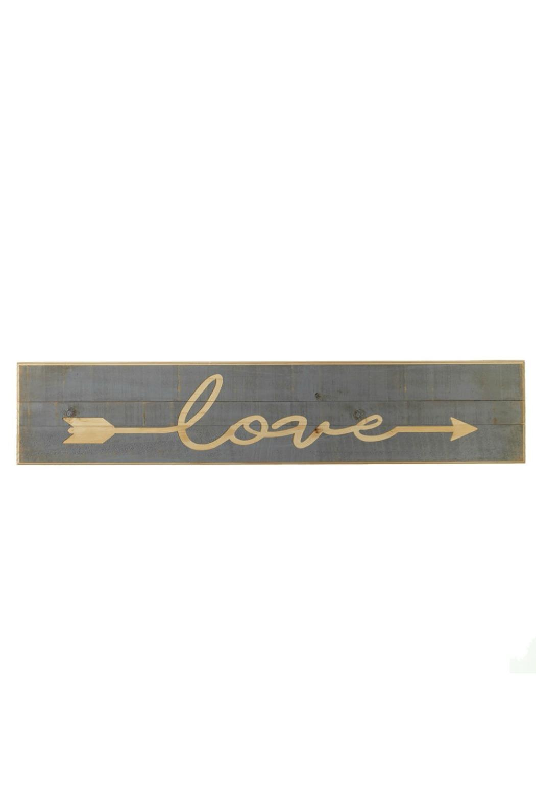 Midwest CBK Carved Love Sign - Main Image