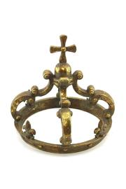 Midwest CBK Crown Style Finial-Cross - Front cropped