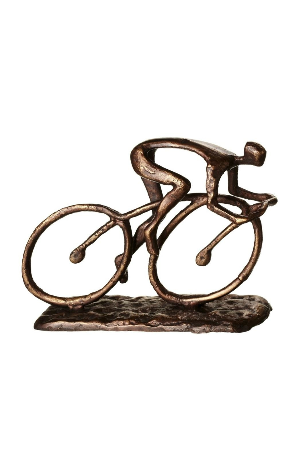 Midwest CBK Cyclist Sculpture Home Decor From Omaha By The Afternoon