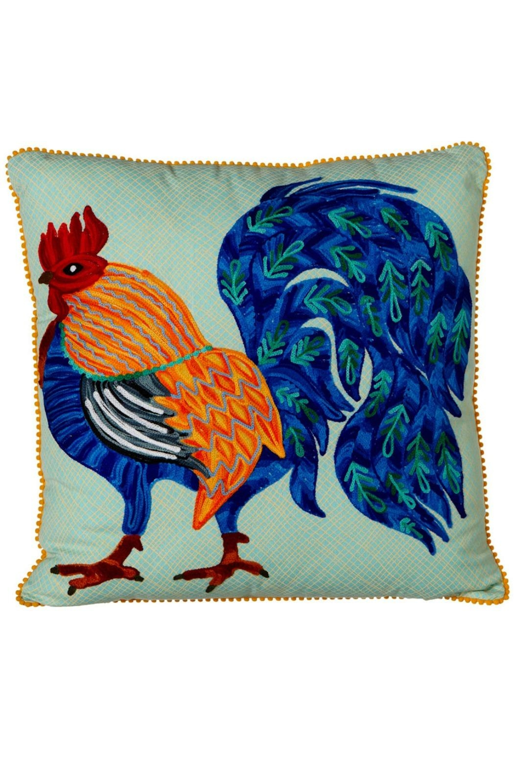 Midwest CBK Embroidered Rooster Pillow - Main Image