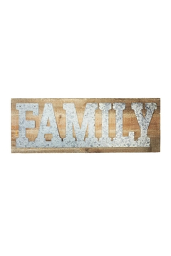 Shoptiques Product: Family Wall Art