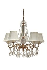 Midwest CBK Gold Swag Chandelier - Product Mini Image