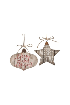 Shoptiques Product: Holiday Ornament Set