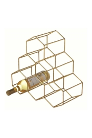 Midwest CBK Honeycomb Wine Holder - Front cropped