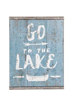 Shoptiques Product: Lake Sign