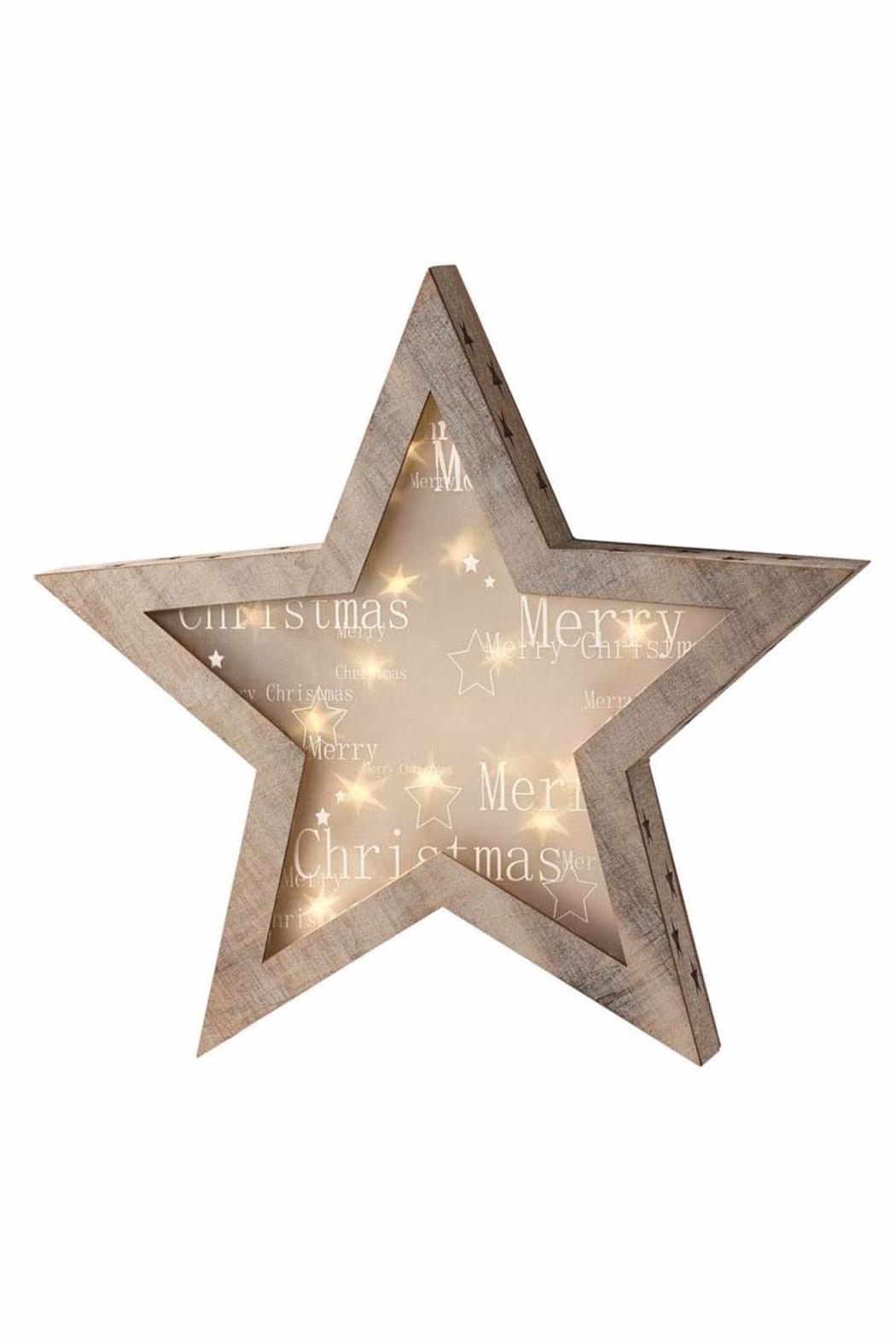 Midwest CBK LED Merry Christmas Star - Main Image