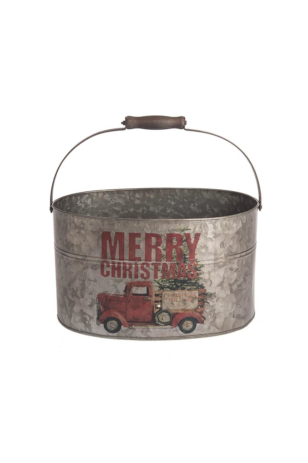 Midwest CBK Merry Chirstmas Pail - Main Image