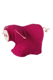 Midwest CBK Pink Pig Door Stopper - Front cropped