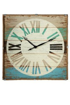 Shoptiques Product: Rope Trimmed Clock