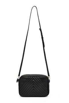 Shoptiques Product: Geometric Leather Crossbody