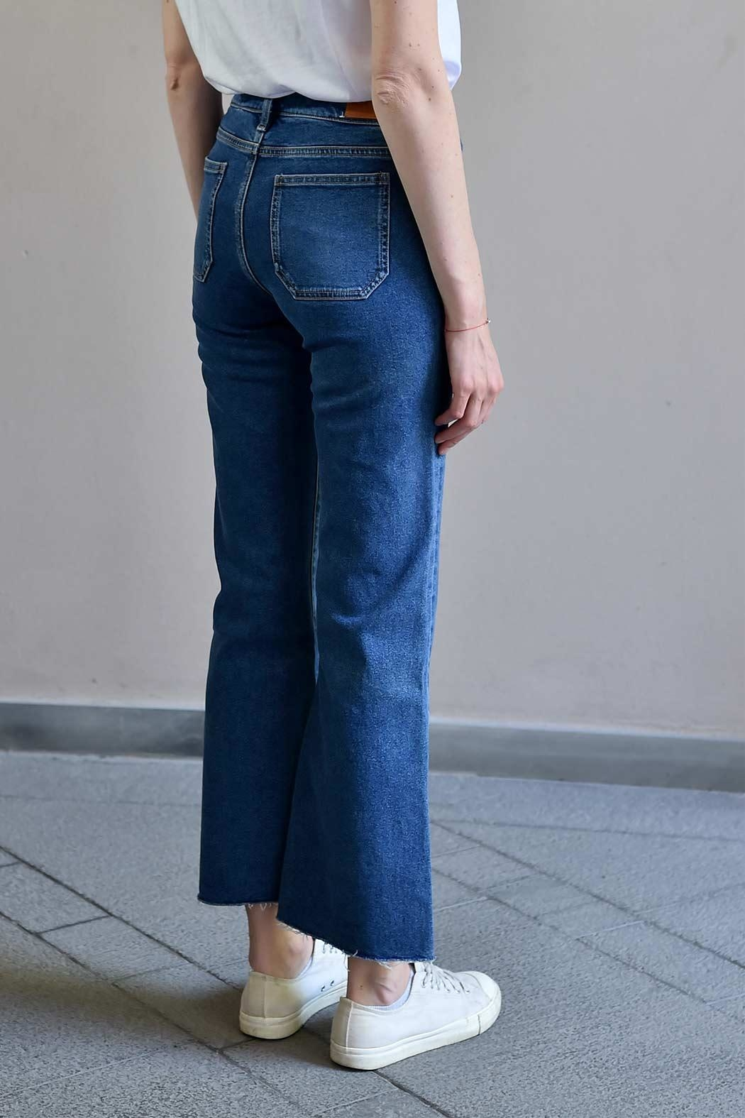 MiH Jeans Cropped Bell Jeans - Back Cropped Image