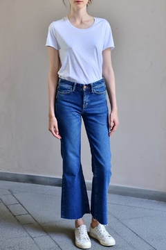 Shoptiques Product: Cropped Bell Jeans