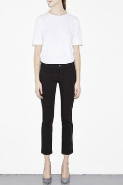 MiH Jeans Cropped Black Jeans - Product List Image