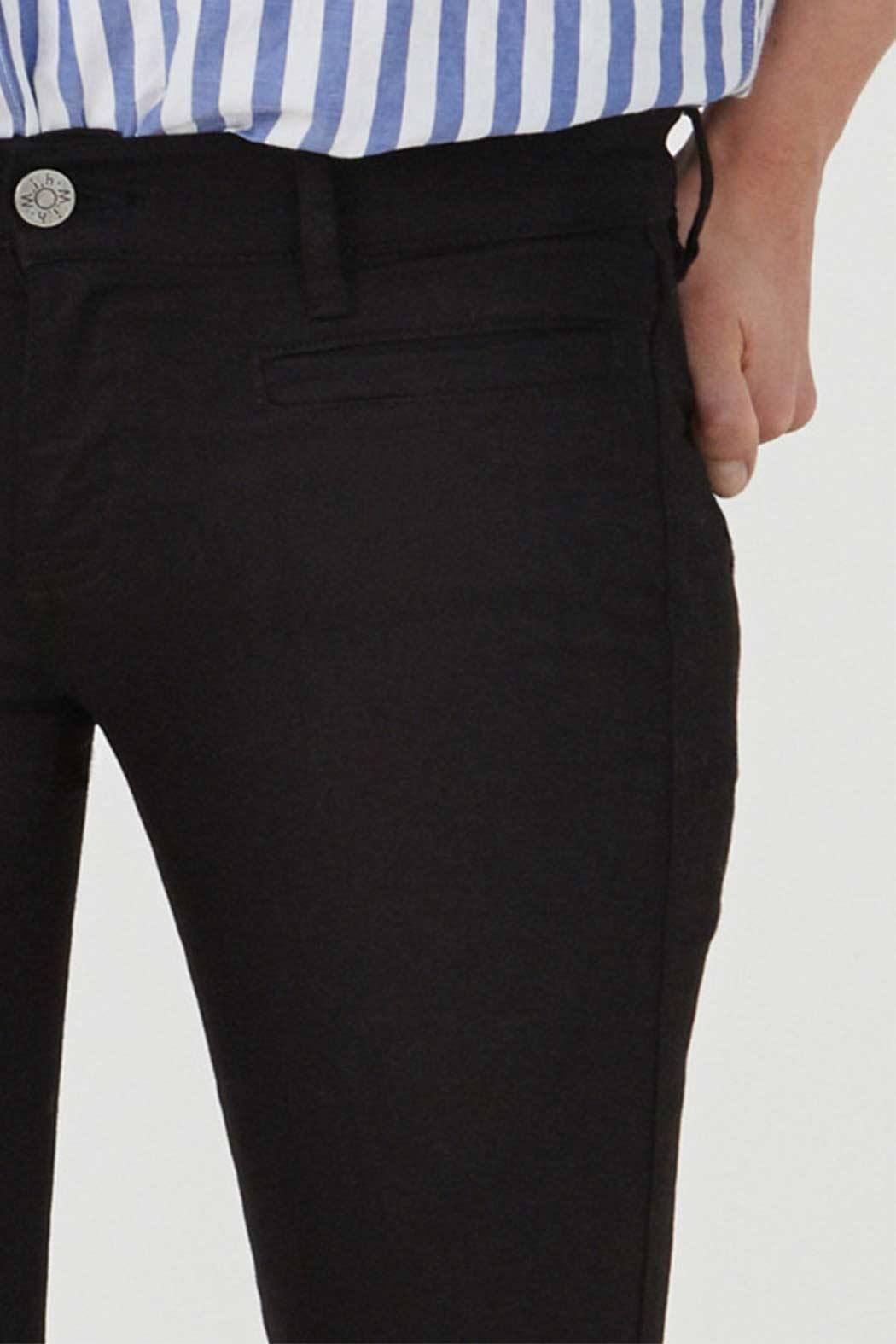 MiH Jeans Cropped Slim Leg Jeans - Side Cropped Image