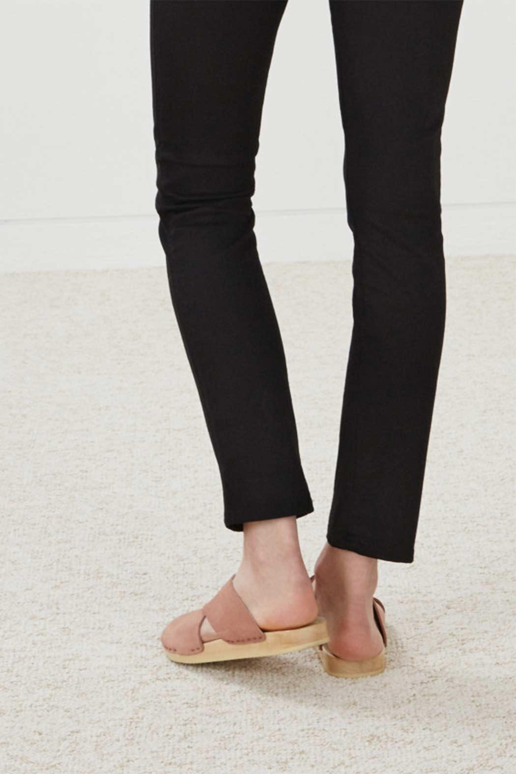 MiH Jeans Cropped Slim Leg Jeans - Front Full Image