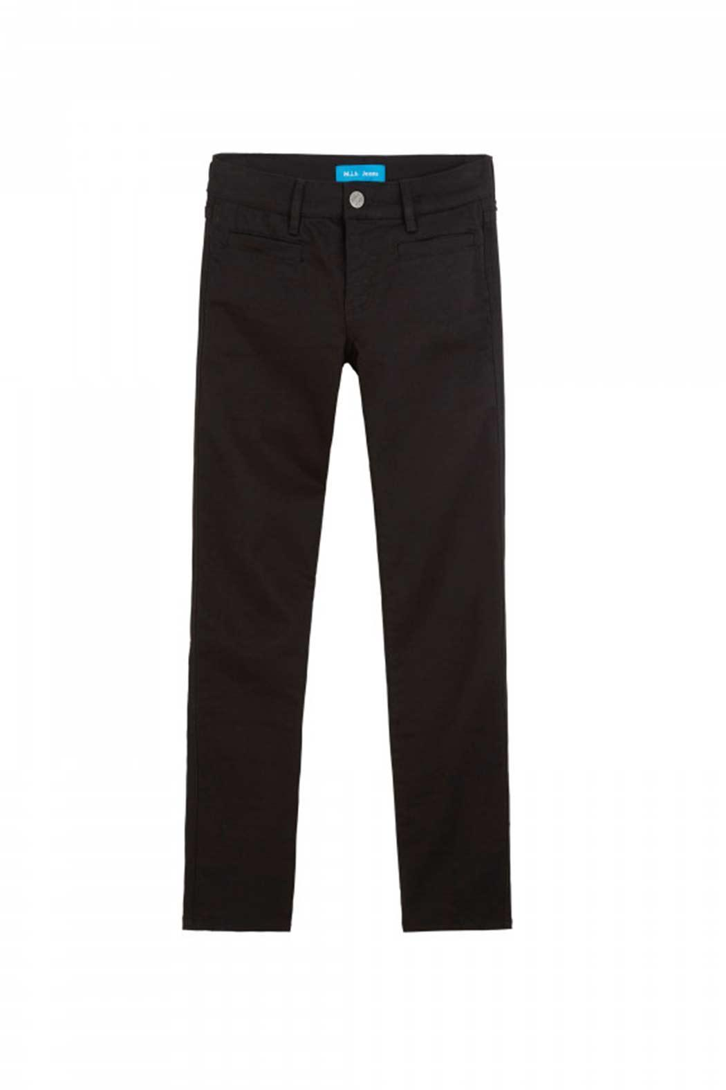 MiH Jeans Cropped Slim Leg Jeans - Back Cropped Image