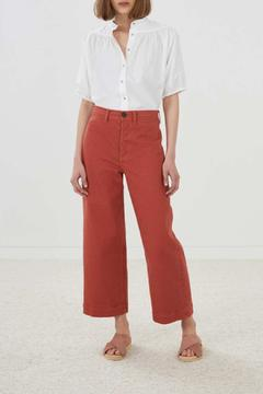 Shoptiques Product: Cropped Wide Pant