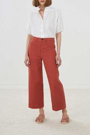 MiH Jeans Cropped Wide Pant - Product Mini Image
