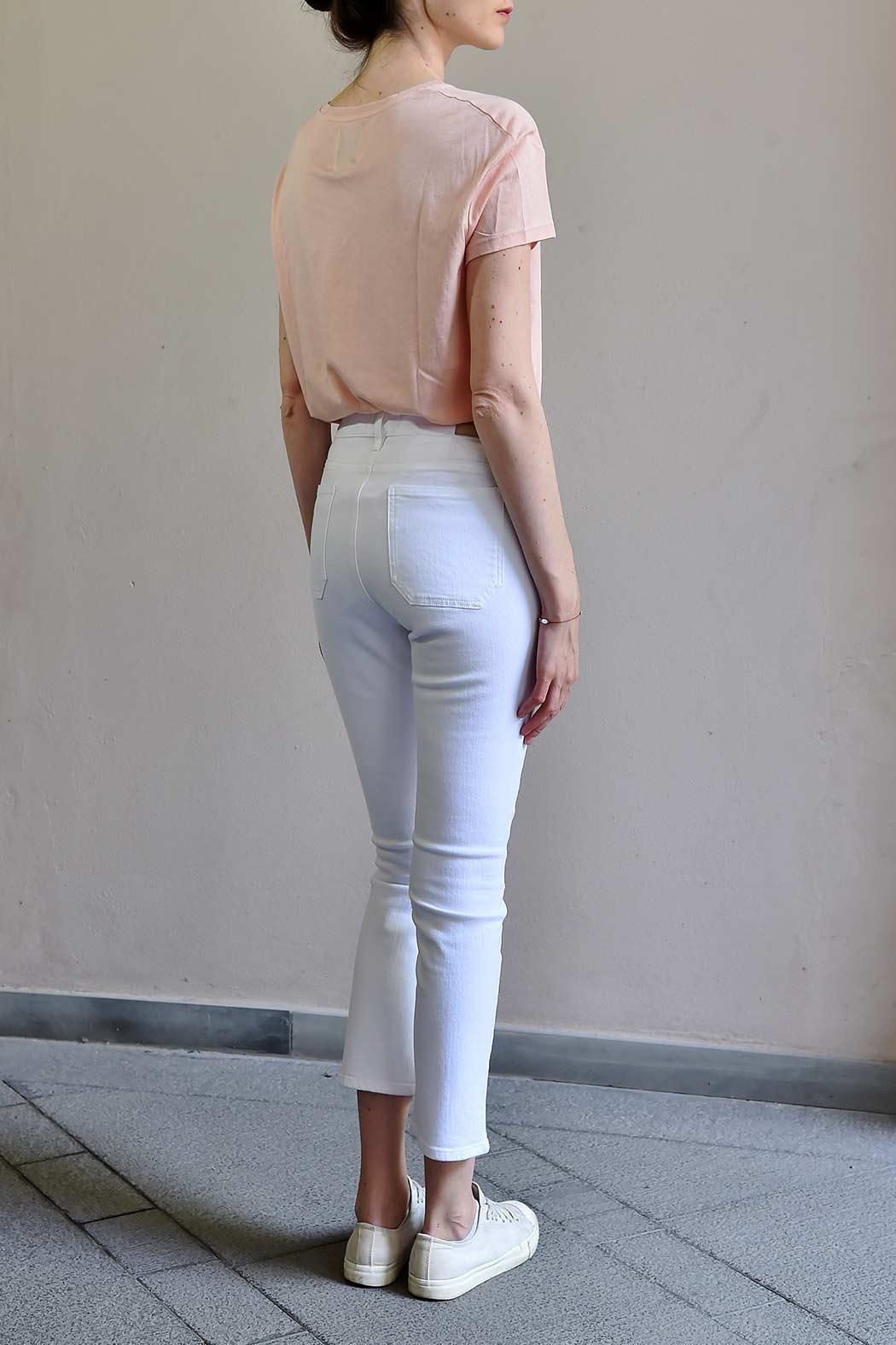 MiH Jeans High Rise Cropped Jeans - Back Cropped Image