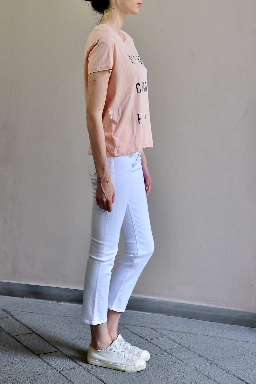 MiH Jeans High Rise Cropped Jeans - Front Full Image