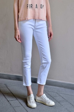 Shoptiques Product: High Rise Cropped Jeans