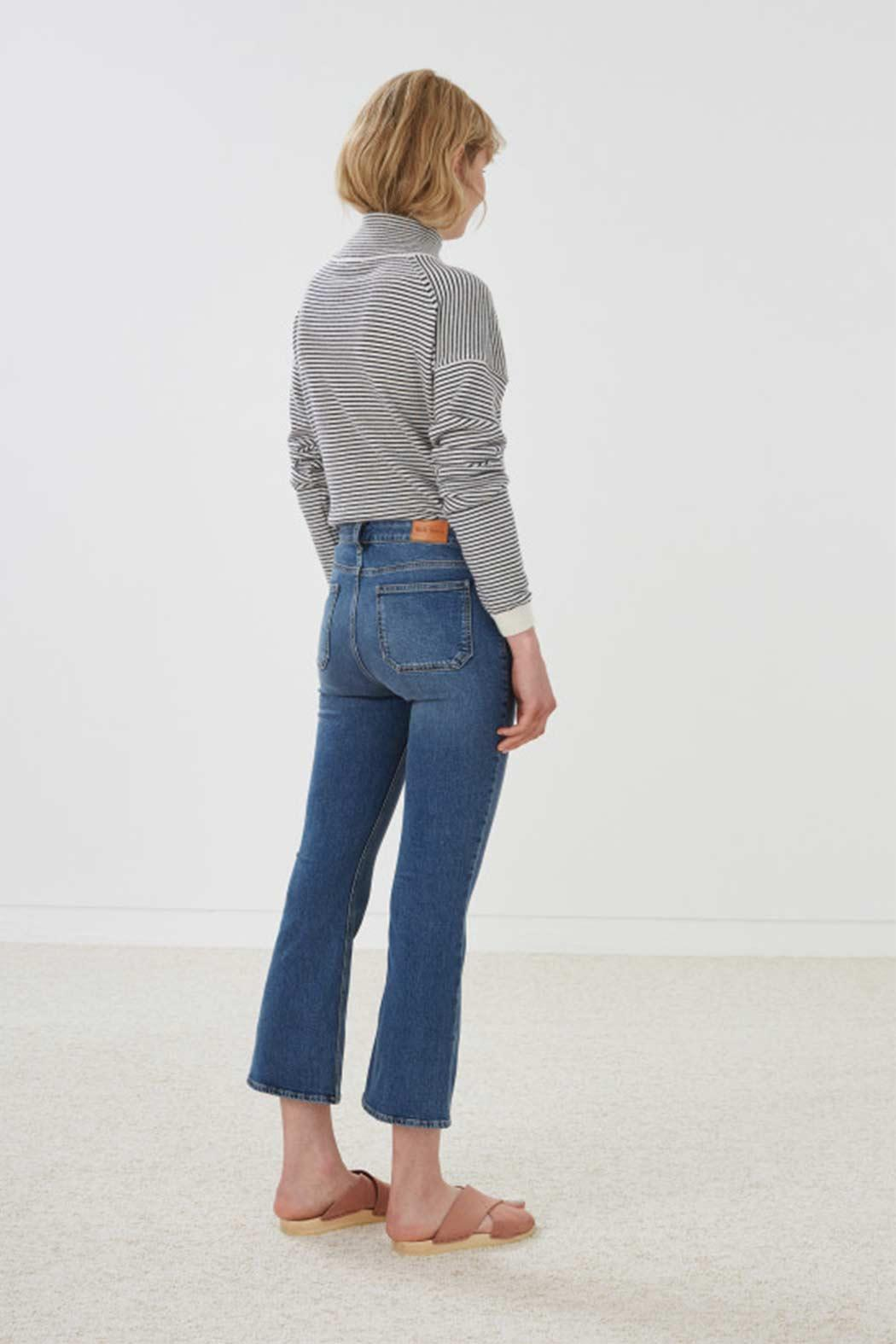MiH Jeans High Rise Cropped Jeans - Front Cropped Image