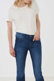 MiH Jeans High Rise Kick Flare Jeans - Front full body