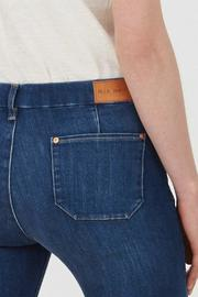 MiH Jeans High Rise Kick Flare Jeans - Back cropped