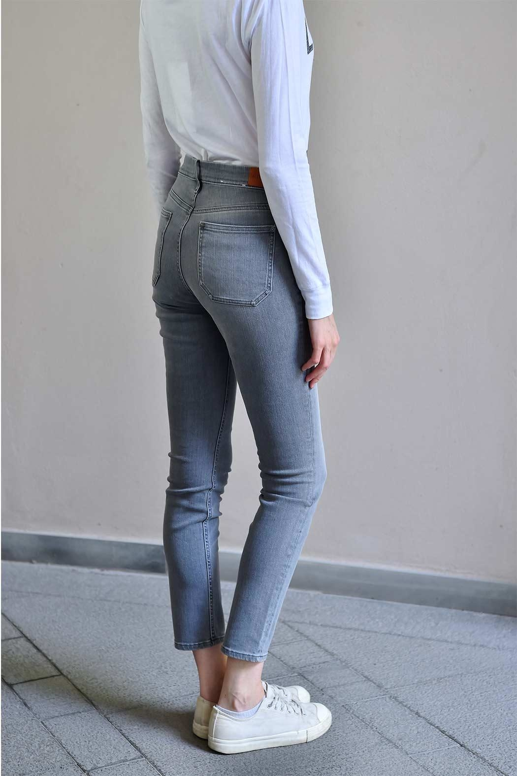 MiH Jeans High Rise Skinny Jeans - Front Full Image