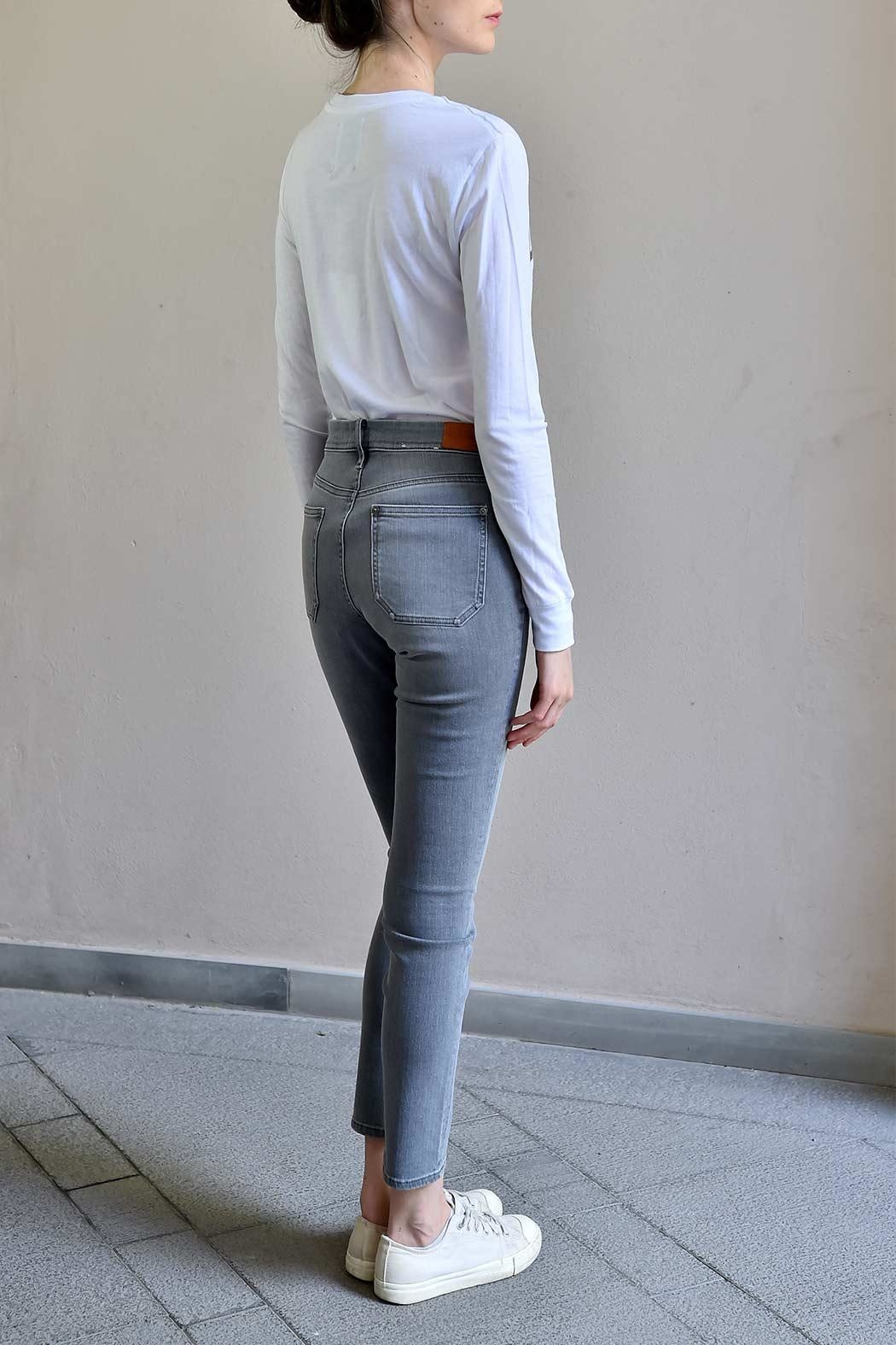 MiH Jeans High Rise Skinny Jeans - Side Cropped Image