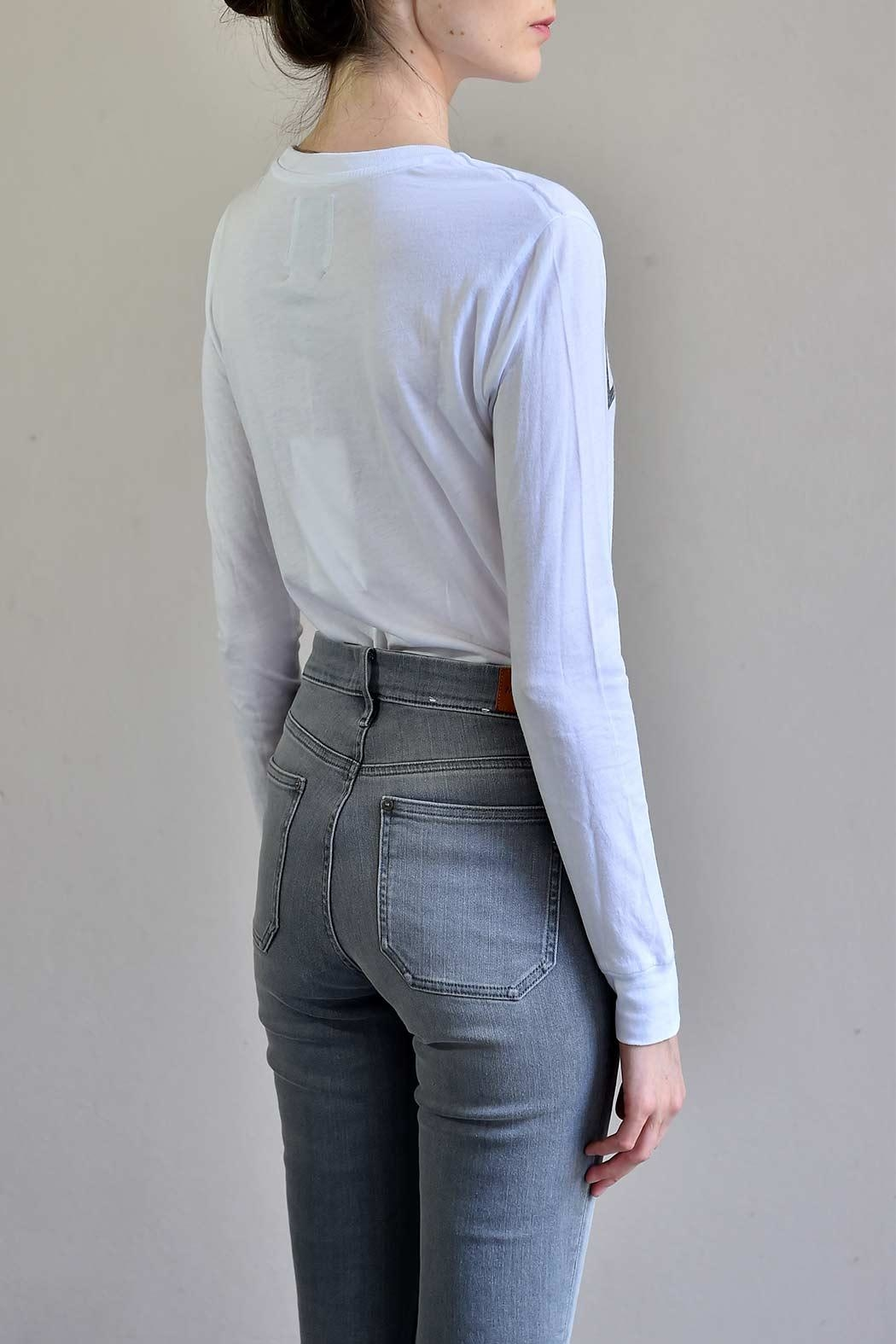 MiH Jeans High Rise Skinny Jeans - Back Cropped Image