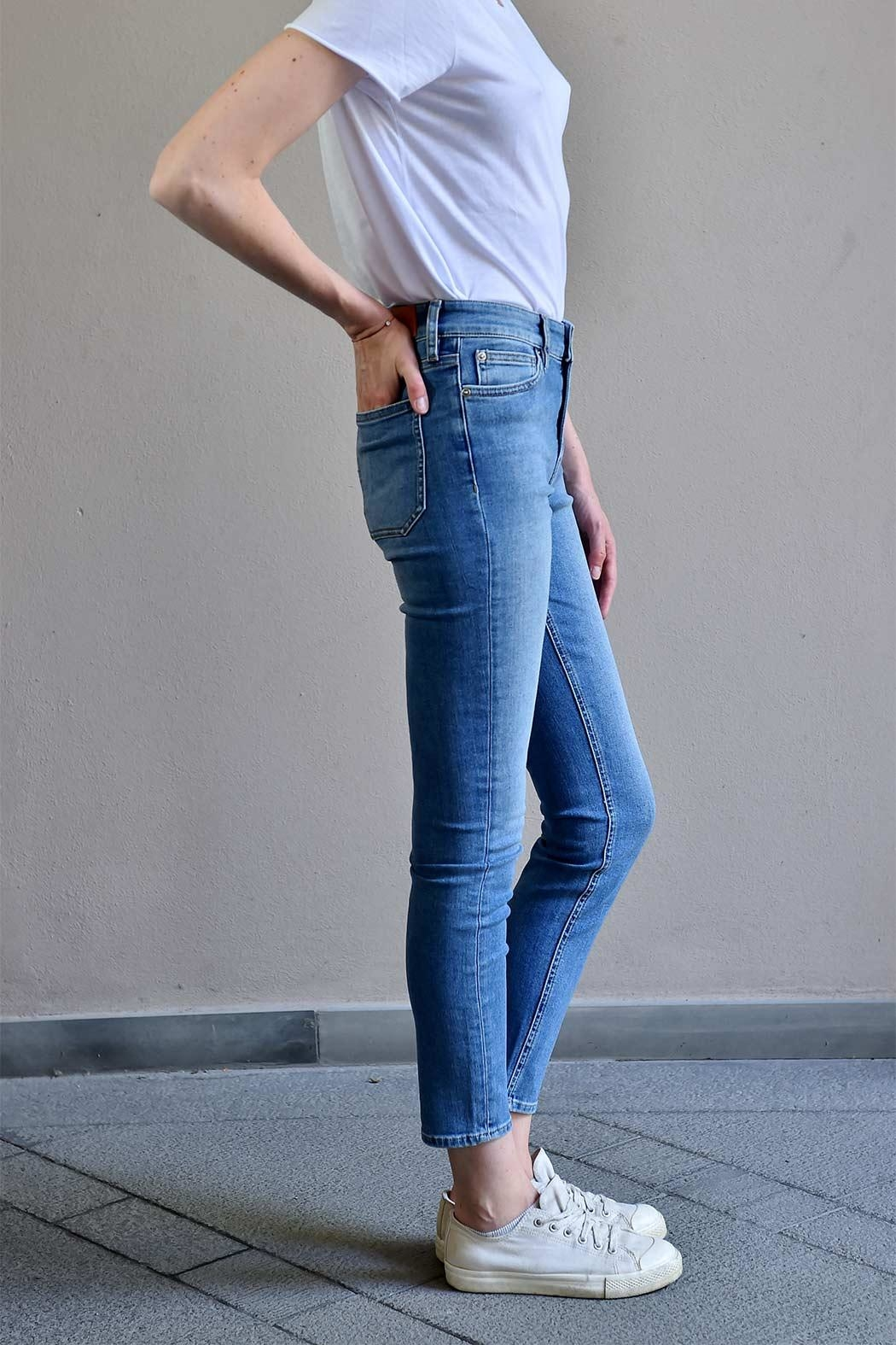 MiH Jeans High Rise Jeans - Back Cropped Image