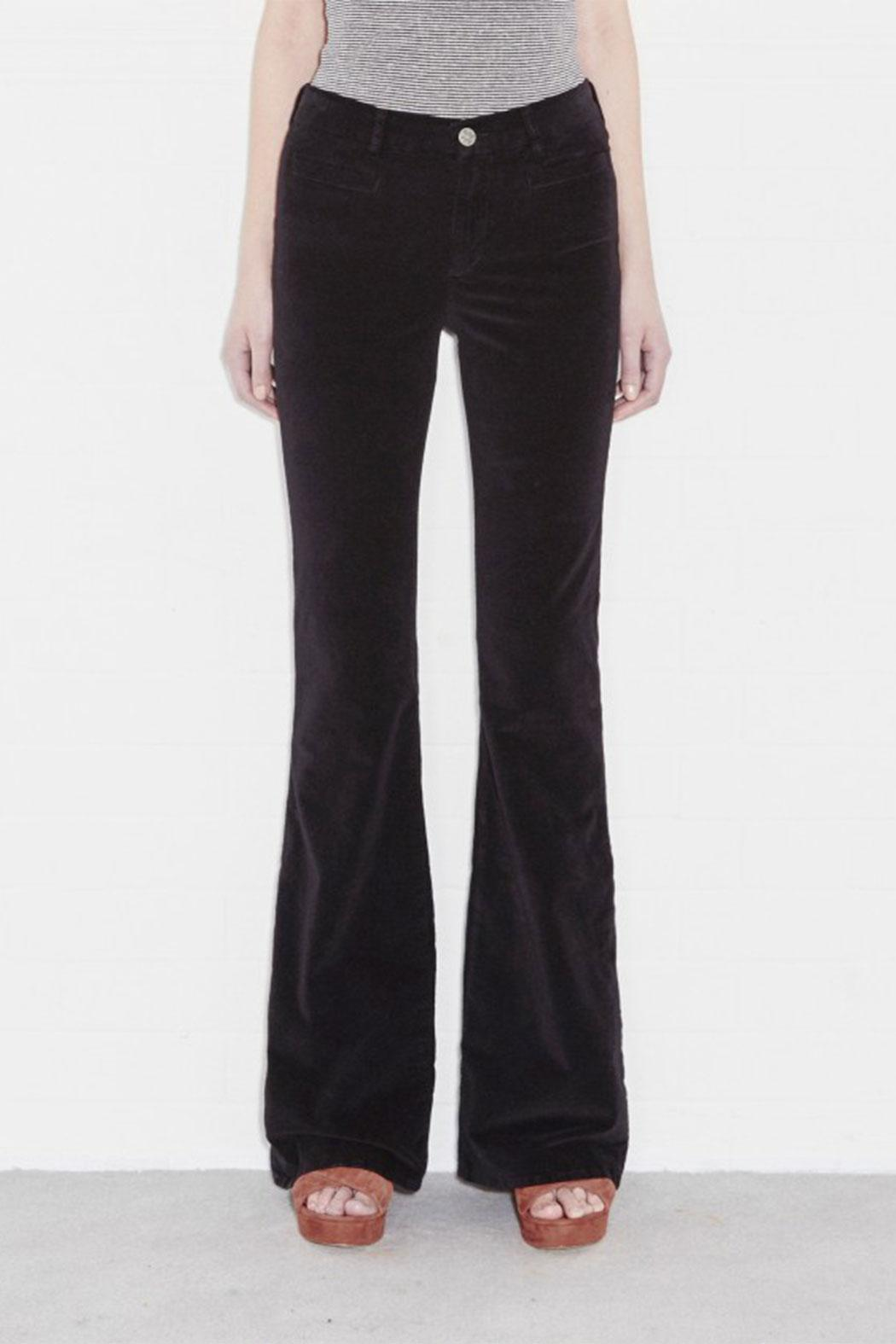 MiH Jeans Velvet Flare Jeans from Italy by Au cabaret vert Milano ...