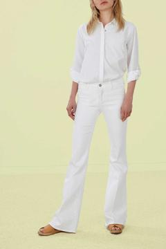 Shoptiques Product: White Flare Jeans