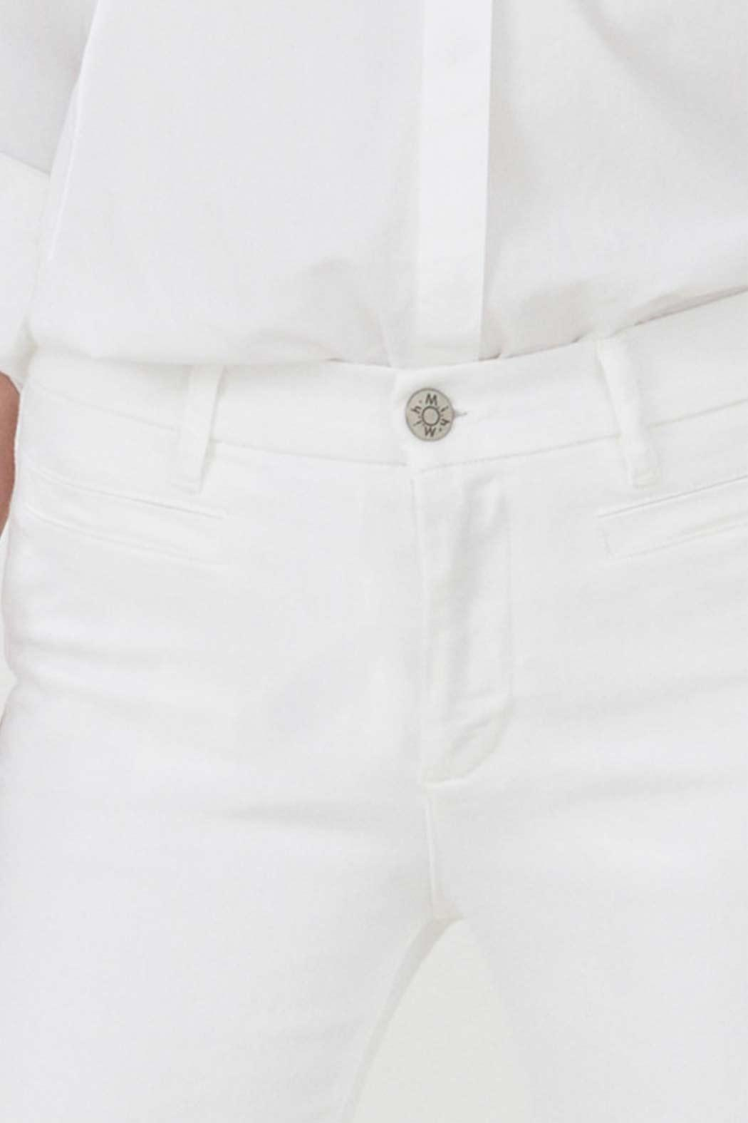 MiH Jeans White Flare Jeans - Side Cropped Image